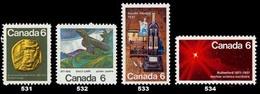 Canada (Scott No. 531-3 -1971 Stamps) [**] - 1952-.... Règne D'Elizabeth II