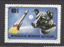 Mongolie, Mongolia, Laika, Chien Dans L'espace, Dog In Space, Fusée, Space Shuttle - Espacio