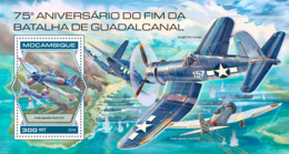 Mozambique 2018 Guadalcanal Campaign World War II S201810 - Mozambique