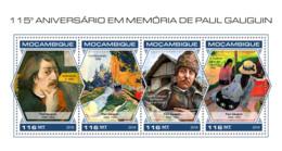 Mozambique 2018 Paul Gauguin Paintings S201810 - Mozambique