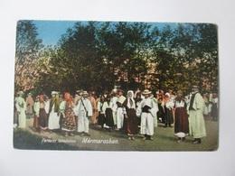 Sighetul Marmatiei-Peasants From Maramures/Tarani Din Maramures,Romanian Unused Postcard 1917-1921 - Romania