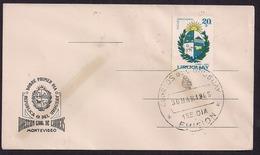 Uruguay - 1965 - FDC - Emblème National - Uruguay