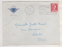 MILITARIA - LETTRE A ENTETE DU 18EME REGIMENT D INFANTERIE PARACHUTISTE DE CHOC - PAU 1956 - VOIR LE SCANNER - Documenti