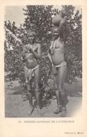 Centrafricaine . N° 51175 . Femmes Mandjias De L Interieur . Scarifications . Seins Nus - Centrafricaine (République)