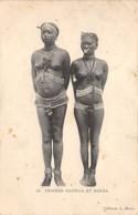 Centrafricaine . N° 51178 . Femmes Mandjia Et Banda . Scarifications . Seins Nus - Centrafricaine (République)
