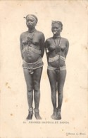 Centrafricaine . N° 51178 . Femmes Mandjia Et Banda . Scarifications . Seins Nus - Central African Republic