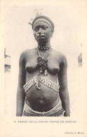 Centrafricaine . N° 51179 . Femme De La Koumi . Tenue De Parade . Scarifications . Seins Nus - Central African Republic