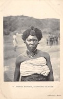 Centrafricaine . N° 51184 . Mandjia Femme Coiffure De Fete - Central African Republic