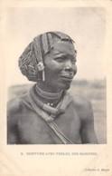 Centrafricaine . N° 51185 . Coiffure Avec Perles Des Banzyris - Central African Republic