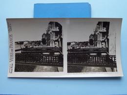St. JEAN-de-LUZ : Vue Sur La Digne-promenade... : S. 73 - 3427 ( Maison De La Bonne Presse VUES De FRANCE ) Stereo Photo - Stereoscopic