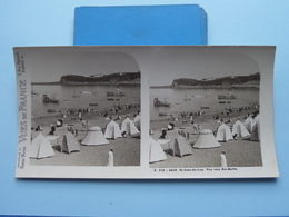 St. JEAN-de-LUZ : Vue Vers St. Barbe : S. 215 - 4418 ( Maison De La Bonne Presse VUES De FRANCE ) Stereo Photo - Stereoscopic