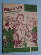 VLAAMSE FILMKENS ( Nr. 398 ) BOER WINOK De Blauwvoeter ( Watteyne ) ! - Juniors