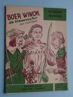 VLAAMSE FILMKENS ( Nr. 398 ) BOER WINOK De Blauwvoeter ( Watteyne ) ! - Livres, BD, Revues