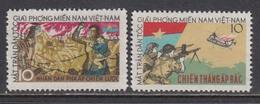 Vietnam 1963 - Ausgabe Der Vietcong - Michel 4/5, MNH** - Viêt-Nam
