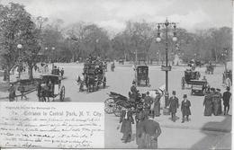 ETATS UNIS-Entrance To Central Park N Y City-MO - Central Park