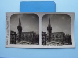CAEN : St. PIERRE Vue Générale : S. 219 - 4471 ( Maison De La Bonne Presse VUES De FRANCE ) Stereo Photo - Stereoscopic