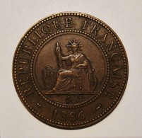 INDO - CHINE FRANCAISE. 1 CENTIME 1886. BEL ETAT. COLONIES FRANCAISES. FRENCH COLONIES. - Colonies