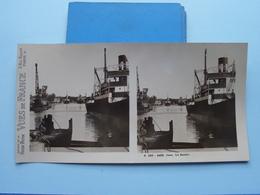 CAEN : Le Bassin : S. 220 - 4488 ( Maison De La Bonne Presse VUES De FRANCE ) Stereo Photo - Stereoscopic