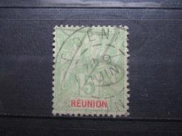 """VEND BEAU TIMBRE DE LA REUNION N° 46 , CACHET """" ST-DENIS """" !!! - Réunion (1852-1975)"""