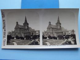 GRANVILLE : Eglise Notre-Dame : S. 206 - 4291 ( Maison De La Bonne Presse VUES De FRANCE ) Stereo Photo - Stereoscopic