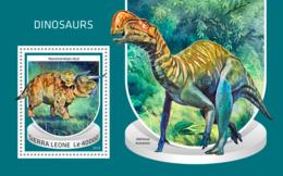Sierra Leone 2018  Dinosaurs S201810 - Sierra Leone (1961-...)