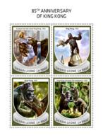 Sierra Leone 2018  King Kong Movie  S201810 - Sierra Leone (1961-...)