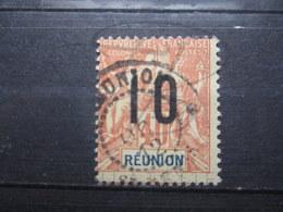 """VEND BEAU TIMBRE DE LA REUNION N° 77 , CACHET """" ST-DENIS """" !!! - Réunion (1852-1975)"""