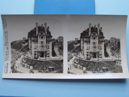GRANVILLE : Le NORMANDY Hotel : S. 206 - 4289 ( Maison De La Bonne Presse VUES De FRANCE ) Stereo Photo - Stereoscopic