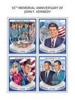 Sierra Leone 2018  John F. Kennedy  S201810 - Sierra Leone (1961-...)