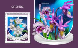 Sierra Leone 2018 Orchids Flora  S201810 - Sierra Leone (1961-...)