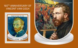 Sierra Leone 2018 Vincent Van Gogh Paintings  S201810 - Sierra Leone (1961-...)