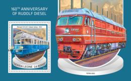 Sierra Leone 2018  Rudolf Diesel   S201810 - Sierra Leone (1961-...)