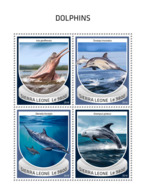 Sierra Leone 2018  Dolphins Fauna  S201810 - Sierra Leone (1961-...)