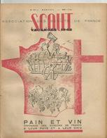 SCOUT , ASSOCIATION DES SCOUTS DE FRANCE , N° 177 , VACANCES 1942 - Scoutisme