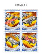 Sierra Leone 2018  Formula 1 Racing Cars  S201810 - Sierra Leone (1961-...)