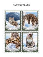 Sierra Leone 2018  Snow Leopard Fauna   S201810 - Sierra Leone (1961-...)