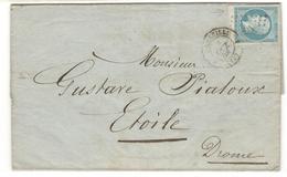 10014 - Bord De Feuille - Storia Postale