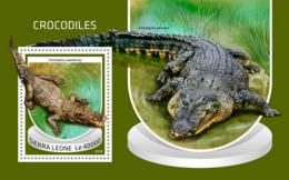 Sierra Leone 2018  Crocodiles  Fauna   S201810 - Sierra Leone (1961-...)