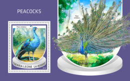 Sierra Leone 2018  Peacocks Fauna   S201810 - Sierra Leone (1961-...)