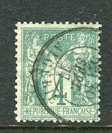 Superbe N° 63 Cachet Algérie ( 1877 ) - 1876-1878 Sage (Type I)