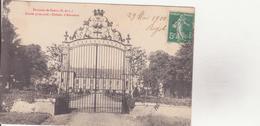 CPA - Env De DREUX Entrée Principale, Château D'ABONDANT - Dreux