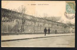 QUIMPER  -29-  Jardin De Vieillards - CPA Voyagée 1906 - Recto Verso- Paypal Sans Frais - Quimper