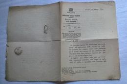 MINISTERO DELLE FINANZE 18 GENNAIO 1896 CIRCOLARE SULLE MARCHE DA BOLLO - Decreti & Leggi
