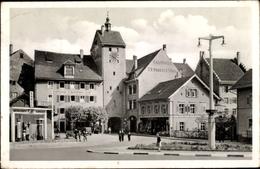 Cp Waldshut Tiengen Hochrhein, Unteres Tor, Kaufhaus F. X. Haberer & Sohn, Stadthaus Rheinischer Hof - Allemagne
