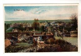 + 1924,  Feldpost, St. Marie A Py - War 1914-18