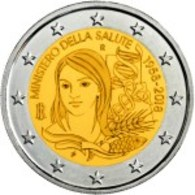 Itália 2 Euro Cc - Saúde  - 2018 UNC - Italy
