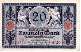 Zwanzig Mark   4/11/1915 - [ 2] 1871-1918 : Empire Allemand
