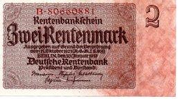 ZweiRentenmark - [ 3] 1918-1933 : République De Weimar