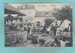 Old Post Card Of São Vicente, Cape Verde ,R72. - Cape Verde
