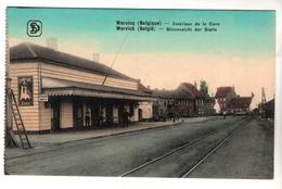 + 1929,  Feldpost, Wervik, Wervicq, Belgien - Wervik